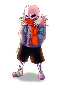 Undertale Sans Papyrus with Scarf