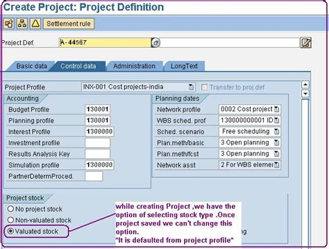 Modification Order Meaning by Step By Step Configuration For Valuated Project Stock