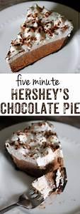 Chocolate Pie  An Easy Five Minute Recipe