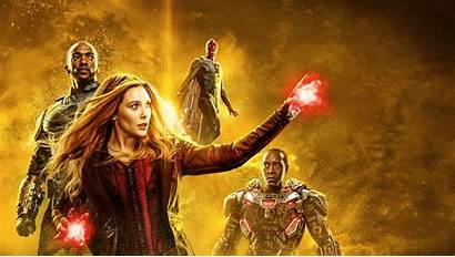 Scarlet Witch Endgame Wallpapers Avengers Vision War