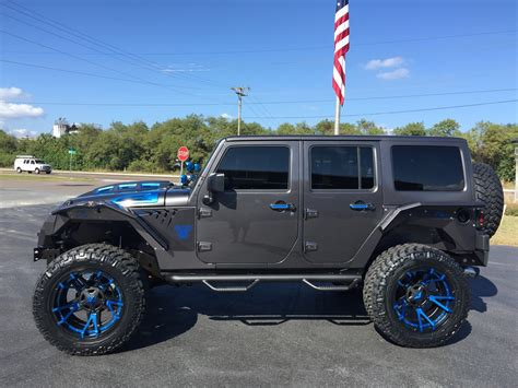 jeep wrangler custom 2016 jeep wrangler unlimited custom grumper leather