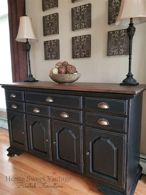 vintage farmhouse buffet finished   general finishes