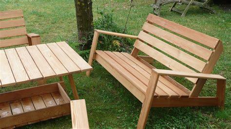 plan chaise de jardin en palette plan fauteuil en bois best mobilier de jardin en palette