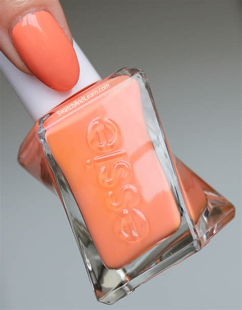 essie no light gel essie looks to thrill swatches review swatch and learn