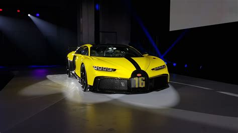 Record breaker but say you want to go faster than the bugatti. Bugatti Chiron Pure Sport 1500 HP launched