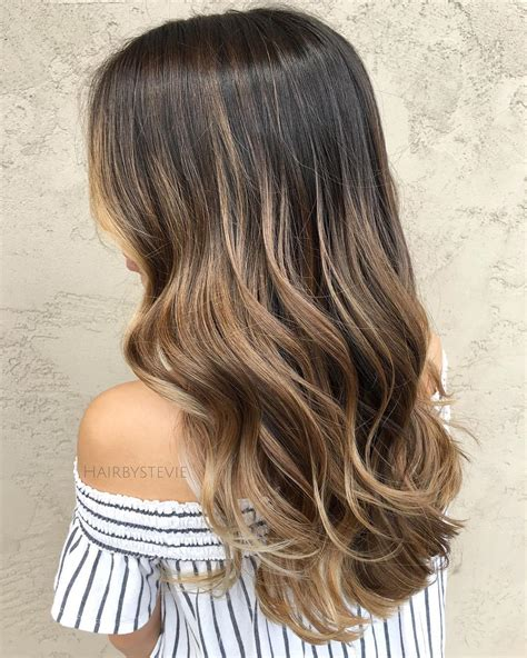 20 Natural Looking Brunette Balayage Styles Trubridal