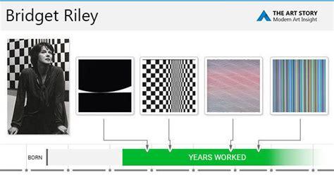 bridget riley paintings bio ideas theartstory