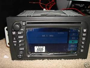 Need Part Number 2005 Escalade Touch Screen Nav Radio