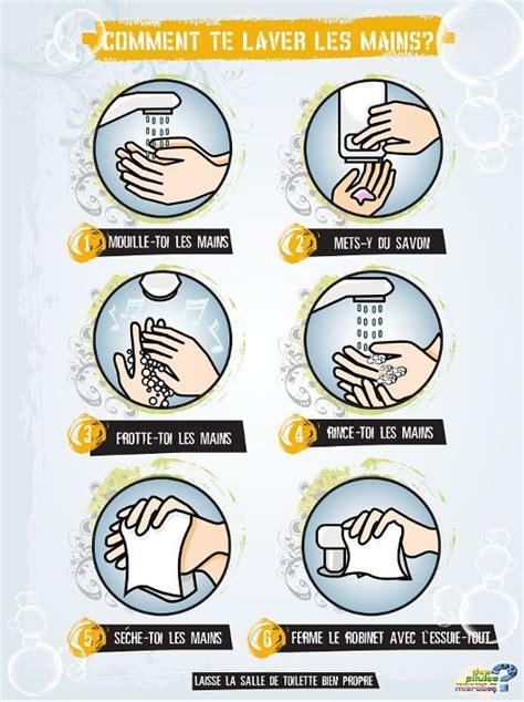 protocole de lavage des mains en cuisine les 25 meilleures idées concernant lavage des mains sur