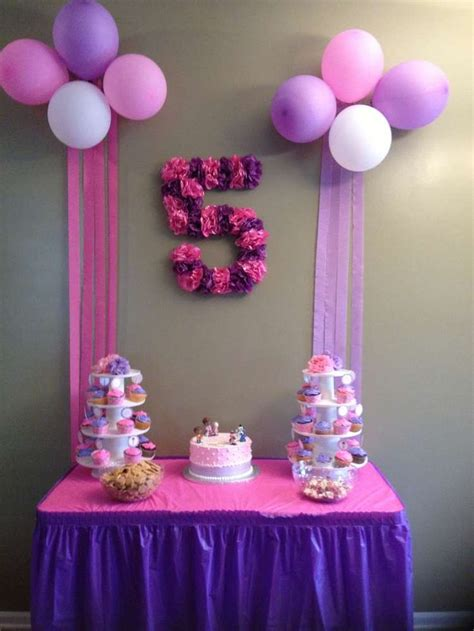 birthday table decorations ideas  pinterest