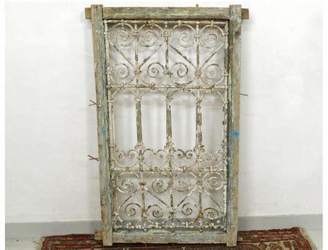 chaise fer forge marocaine grille fen 234 tre marocaine fer forg 233 bois peint maroc maghreb atlas d 233 co xx 232