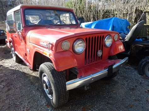 commando jeep 1971 jeep commando 3 7l v6 4x4 jeepster kaiser sale or