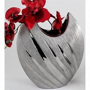 Vase, Design, Argent, 30, Cm, -, Achat, Vente, Vase, -, Soliflore