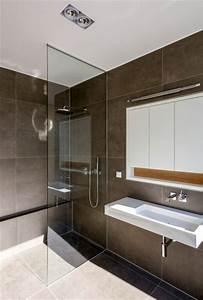 Moderne Badezimmer Mit Dusche : dusche mit raumhoher glasabtrennung modern badezimmer frankfurt am main von kleebach ~ Sanjose-hotels-ca.com Haus und Dekorationen