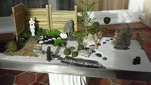 mini jardin japonais d interieur farqna With mini jardin zen japonais