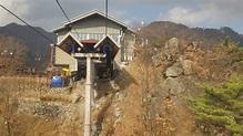 [大邱廣域市]東區,八公山自然公園,乘坐登山纜車下山 (1) - YouTube