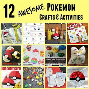 The Activity Mom - Pokemon Crafts and Activities for Kids ...