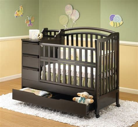 crib and changing table best cherry wood crib with changing table wood and home