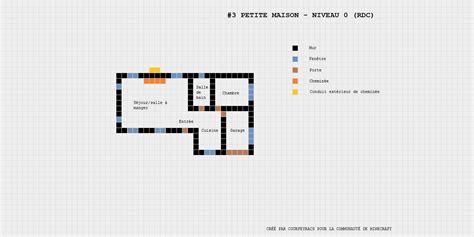 Plan D'une Petite Maison Minecraftconstructor