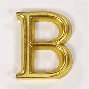 Gold gilded letter b with cashback from graham and green for Gold letter b