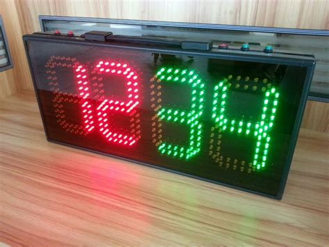 Leeman Led Soccer Substitution Board Electronic