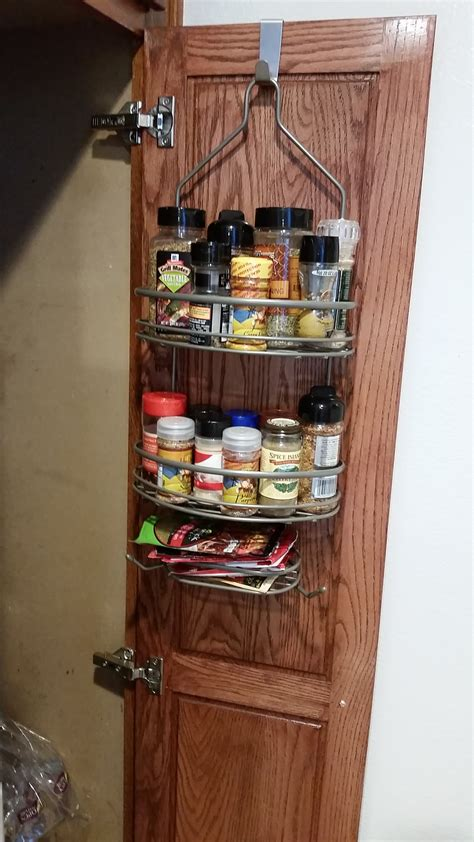 Hanging Spice Rack On Door by Popular Home Interior Decoration
