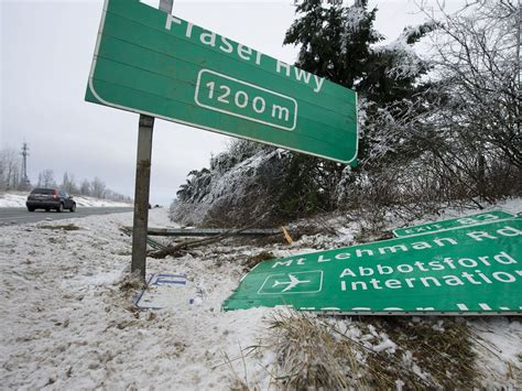snow blankets chilliwack and eastern fraser valley