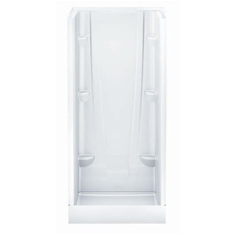 36 Shower Stall - aquatic a2 36 in x 36 in x 76 in shower stall in white