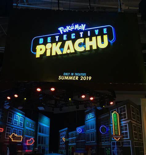 pokemon detective pikachu logo nintendo