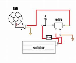 Radiator Fan Relay Fiero  Radiator  Free Engine Image For