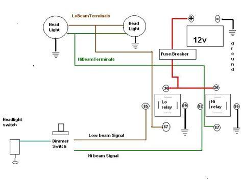 Headlight Relay Diagrams The Present Chevrolet