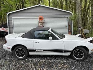 1990 Mazda Miata Convertible White Rwd Manual For Sale