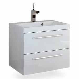 Waschbeckenunterschrank 40 Cm Tief : laguna waschtischunterschrank breite 60 cm wei ~ Lateststills.com Haus und Dekorationen