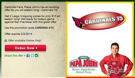 50718 Grand Slam Promo Code Papa Johns by Papa Johns Promo Codes Atlanta Brand Coupons