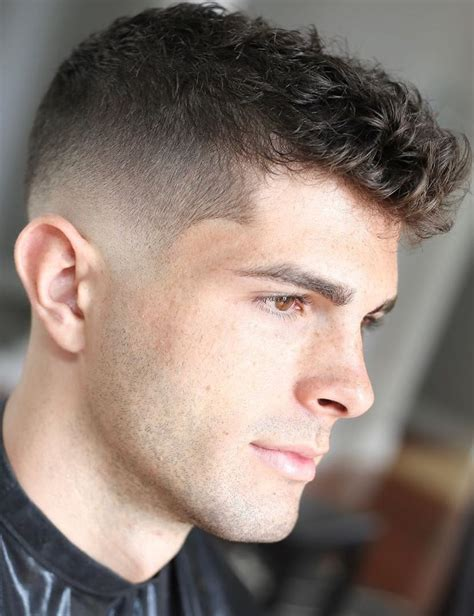 Like many trendy men's hairstyles, the curtain haircut has come full circle and guys are pairing this middle part hairstyle with … 35 Best Curly Hairstyles For Men That Will Probably Suit ...