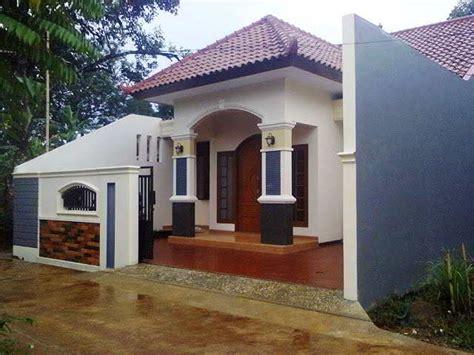 model desain rumah minimalis modern sederhana elegan