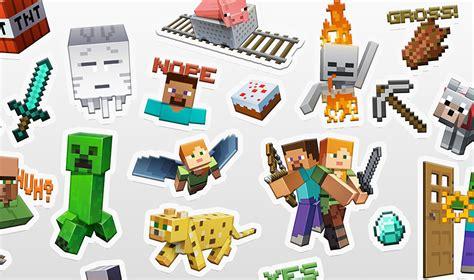 minecraft stickers out now minecraft