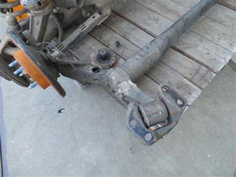 gebrauchte stahlhalle zur demontage gebrauchte opel era 1 4 16v hinterachse