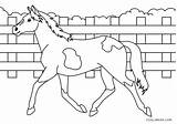 Coloring Horse Pages Printable sketch template