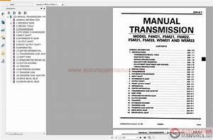 Gearbox F4m2x F5m2x F5m3x W5mx Repair Manual