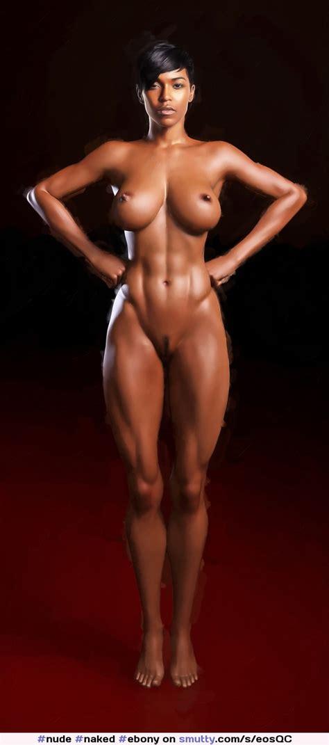 Nude Naked Ebony Cartoon