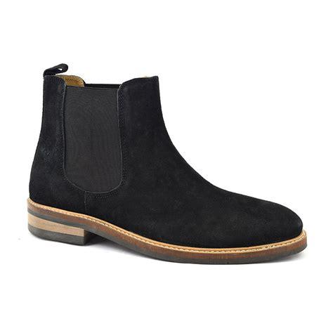 Shop Black Suede Chelsea Boot Mens Boots   Gucinari