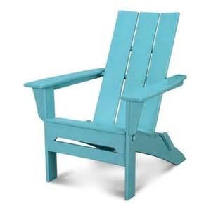 polywood 174 modern folding adirondack chair walmart com