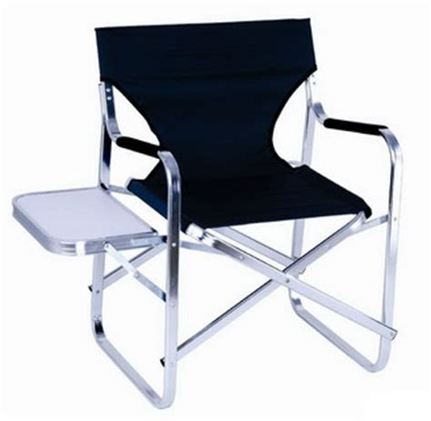 deluxe aluminum frame director chair pdc311 camping chair