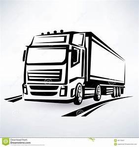Route Berechnen Lkw Kostenlos : europ ischer lkw vektor abbildung bild 40775047 ~ Themetempest.com Abrechnung