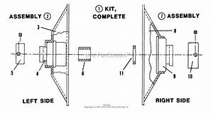 Snapper 28083s 28 U0026quot  8 Hp Rear Engine Rider Series 3 Parts Diagram For Commercial Bearing Kit