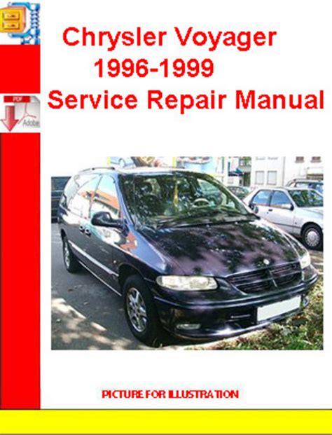 car repair manuals online free 1996 chrysler sebring lane departure warning chrysler voyager 1996 1999 service repair manual download manuals