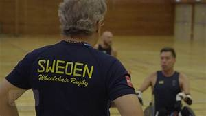 Touring with the Swedish wheelchair rugby team - CNN Video