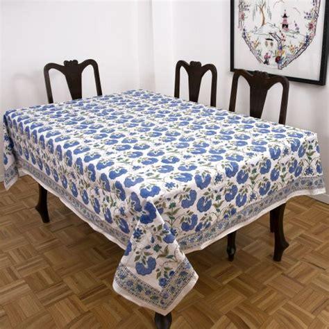 indian block print hand stitched tablecloths marigoldliving