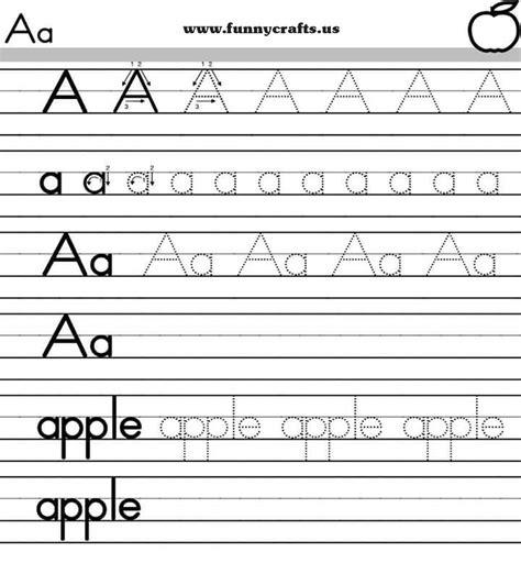 letter  handwriting worksheets  preschool